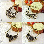 Материалы для творчества handmade. Livemaster - original item Connector for jewelry Art.KP10. Handmade.