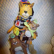 Куклы и игрушки ручной работы. Ярмарка Мастеров - ручная работа Кот Апельсинчик. Handmade.
