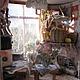 Кукольный дом ручной работы. Ярмарка Мастеров - ручная работа. Купить Посылочка (2). Handmade. Кукольный домик, телевизор