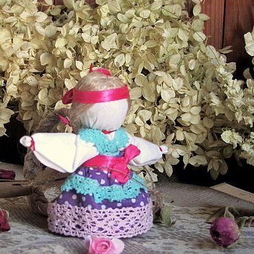 Куклы и игрушки ручной работы. Ярмарка Мастеров - ручная работа Народная кукла: Оберег кукла Долюшка. Handmade.