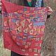 """Шали, палантины ручной работы. Ярмарка Мастеров - ручная работа. Купить Шелковый платок-картина """"Золотая Адель"""" по мотивам Gustav Klimt. Handmade."""