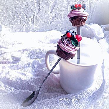 Посуда ручной работы. Ярмарка Мастеров - ручная работа Вкусные ложки с декором. Handmade.