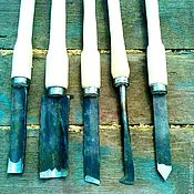Инструменты для столярного дела ручной работы. Ярмарка Мастеров - ручная работа Резцы кованые по дереву(набор). Handmade.