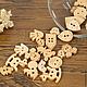Шитье ручной работы. Ярмарка Мастеров - ручная работа. Купить Пуговицы деревянные, 13 форм. Handmade. Перламутр, пуговица
