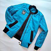 Работы для детей, ручной работы. Ярмарка Мастеров - ручная работа Куртка-бомбер для мальчика. Handmade.