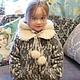 "Зимнее пальто "" Герда"". Childrens outerwears. 'Nezhnyj vozrast'. My Livemaster. Фото №4"