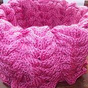 """Аксессуары ручной работы. Ярмарка Мастеров - ручная работа снуд """"розовый фламинго"""". Handmade."""