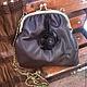 Женские сумки ручной работы. Ярмарка Мастеров - ручная работа. Купить Очень женская сумочка. Handmade. Коричневый, элегантная сумка