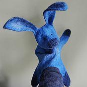 Куклы и игрушки handmade. Livemaster - original item Bunny. Glove puppet.. Handmade.
