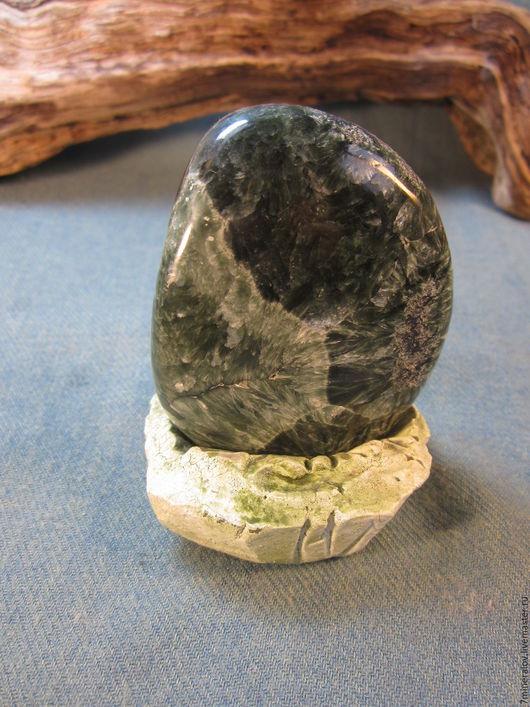 """Минералы, друза ручной работы. Ярмарка Мастеров - ручная работа. Купить 125гр. Серафинит """" Натуральные камни минералы. Handmade."""