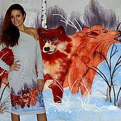 "Одежда handmade. Livemaster - original item Dress ""in the winter woods ..."". Handmade."