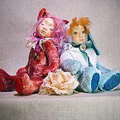 Куклы и игрушки ручной работы. Ярмарка Мастеров - ручная работа Аврора и Амалия. Handmade.