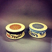 """Подарки к праздникам ручной работы. Ярмарка Мастеров - ручная работа """"Цветочный орнамент"""" Шкатулка для украшений. Handmade."""