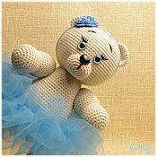 Куклы и игрушки handmade. Livemaster - original item Soft toys: Masha-knitted toy. Handmade.