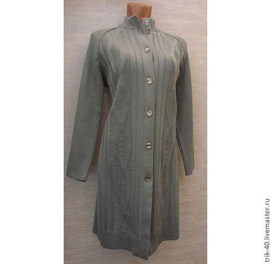 """Верхняя одежда ручной работы. Ярмарка Мастеров - ручная работа. Купить Пальто """"1. Handmade. Оливковый"""