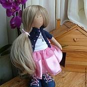 Куклы и игрушки ручной работы. Ярмарка Мастеров - ручная работа Интерьерная текстильная кукла.. Handmade.