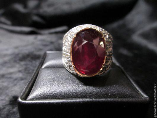 Кольца ручной работы. Ярмарка Мастеров - ручная работа. Купить Уникальное кольцо с рубином с о. Мадагаскар (12,25 карата). Handmade.