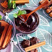 Мыло ручной работы. Ярмарка Мастеров - ручная работа Бельди мягкое натуральное мыло с нуля Шоколад с корицей коричневый. Handmade.