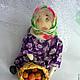 Коллекционные куклы ручной работы. Приехали внуки- уехали внуки( бабушка, текстильная кукла). Скрипка Лада. Ярмарка Мастеров.