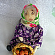 came the grandchildren - left grandchildren( grandma, a textile doll). Dolls. casket dream. My Livemaster. Фото №5