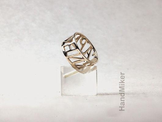 """Кольца ручной работы. Ярмарка Мастеров - ручная работа. Купить Кольцо """"Гармония"""". Handmade. Серебряный, серебро"""