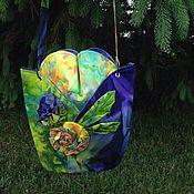 """Сумки и аксессуары ручной работы. Ярмарка Мастеров - ручная работа """"Blooming Shades"""" - летняя сумка. Handmade."""