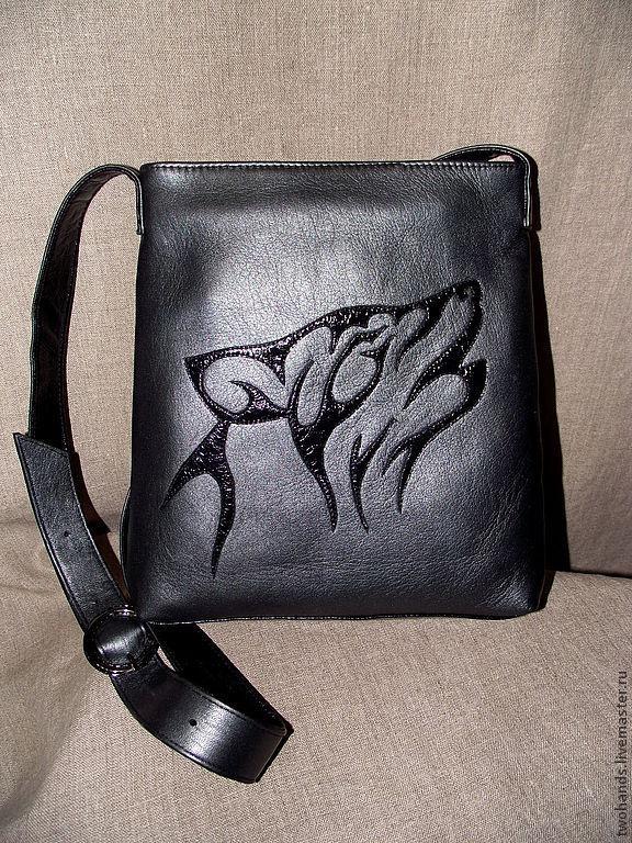 087116e8d3f0 Сумки и аксессуары ручной работы. Ярмарка Мастеров - ручная работа. Купить  Кожаная сумочка.