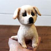 Куклы и игрушки handmade. Livemaster - original item Labrador dog toy made of wool. Handmade.