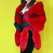 Аксессуары handmade. Livemaster - original item A luxurious boa made of natural fur Fox. Handmade.