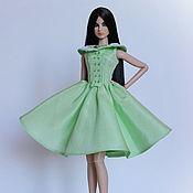 Куклы и игрушки ручной работы. Ярмарка Мастеров - ручная работа Платье на кукол FR2. Handmade.