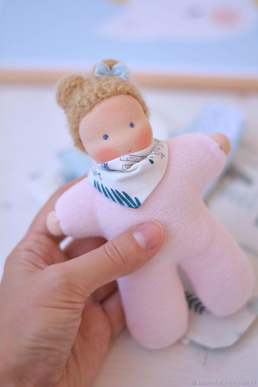 Вальдорфская кукла Капелька, 15 см, Игрушки, Краснодар, Фото №1