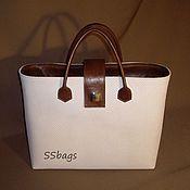 Сумки и аксессуары handmade. Livemaster - original item Women`s handbag made of Italian genuine leather.. Handmade.