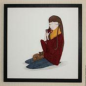 Картины и панно ручной работы. Ярмарка Мастеров - ручная работа Тишина, спокойствие, душевность. Handmade.