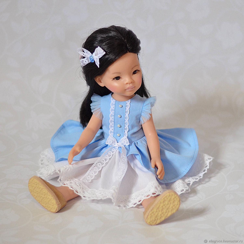 87ec28e759f7 Одежда для кукол ручной работы. Ярмарка Мастеров - ручная работа. Купить  Платье для куклы ...