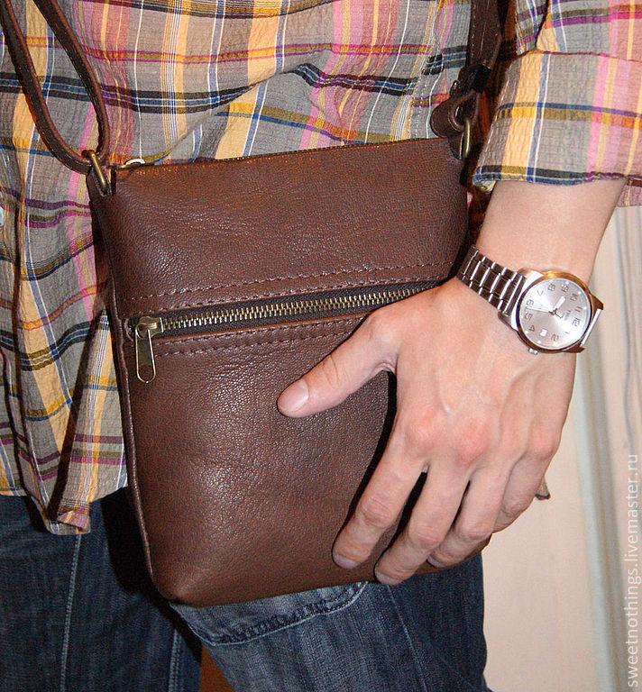 Мужская сумка для документов – купить в интернет-магазине на Ярмарке ... 3289a85cf3a