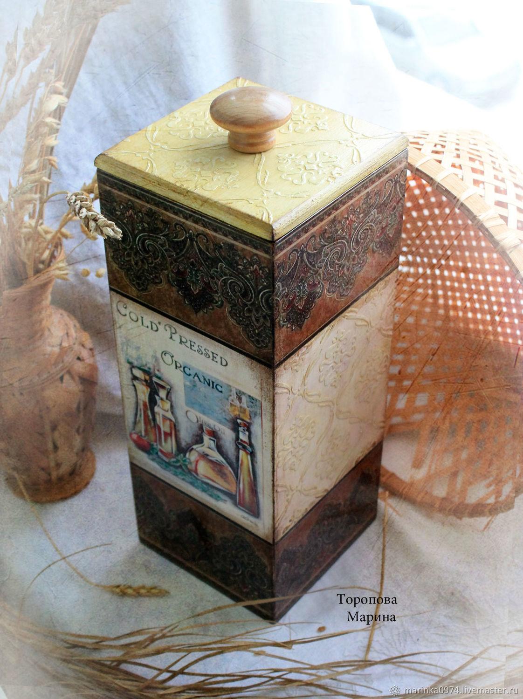 High box for the storage of ' Culinary mysteries', Utensils, Krasnoyarsk,  Фото №1