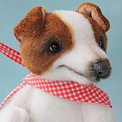 Куклы и игрушки ручной работы. Ярмарка Мастеров - ручная работа Тедди собака Джек. Handmade.