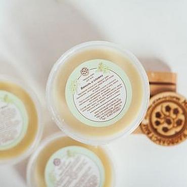 Косметика ручной работы. Ярмарка Мастеров - ручная работа Крем твердый масляный для тела Нежность кожи питание и уход. Handmade.