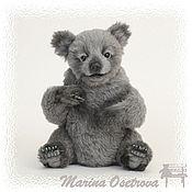 Куклы и игрушки ручной работы. Ярмарка Мастеров - ручная работа Cub bear Silver. Handmade.