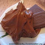 """Косметика ручной работы. Ярмарка Мастеров - ручная работа Маска для лица """"Шоколадный мусс"""", 50 мл. Handmade."""