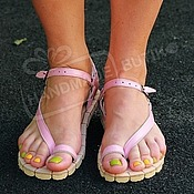 Обувь ручной работы handmade. Livemaster - original item lace-up leather soft pink. Handmade.