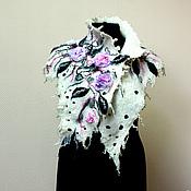 """Одежда ручной работы. Ярмарка Мастеров - ручная работа """"ROSE"""" накидка на плечи. Handmade."""