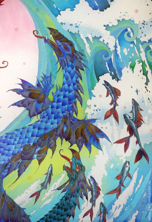 silk pareos, batik silk shawls, painted silk shawls, batik shawls from silk shawls, painted silk, batik scarf, batik, cold batik, silk scarf, painted scarf, silk painting, Rospan