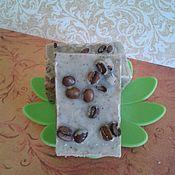 Косметика ручной работы. Ярмарка Мастеров - ручная работа Натуральное Кофейное мыло-скраб. Handmade.