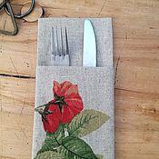 Для дома и интерьера ручной работы. Ярмарка Мастеров - ручная работа Куверт Розы Прованса 2шт. Handmade.