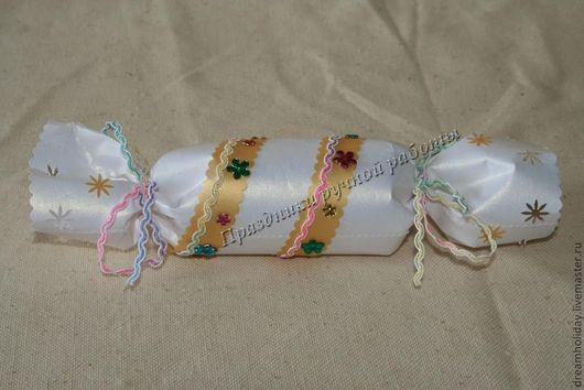 Подарочная упаковка ручной работы. Ярмарка Мастеров - ручная работа. Купить Упаковка в форме конфетки. Handmade. Подарок, упаковка подарка