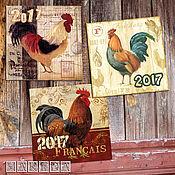 """Открытки ручной работы. Ярмарка Мастеров - ручная работа Комплект открыток """"Петушок"""", винтаж. Handmade."""