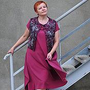 """Одежда ручной работы. Ярмарка Мастеров - ручная работа платье """"ЯГОДА"""" с жилетом. Handmade."""