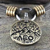 Зоотовары handmade. Livemaster - original item Addressee medallion with mountains for LEO the dog. Handmade.