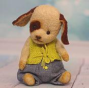 Куклы и игрушки ручной работы. Ярмарка Мастеров - ручная работа Щеночек Пират. Handmade.